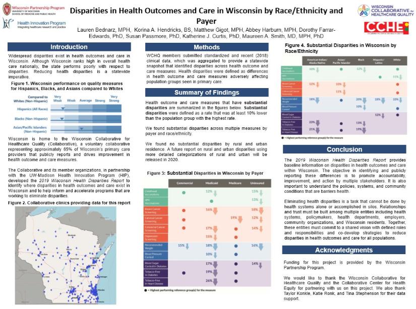 Disparities Poster