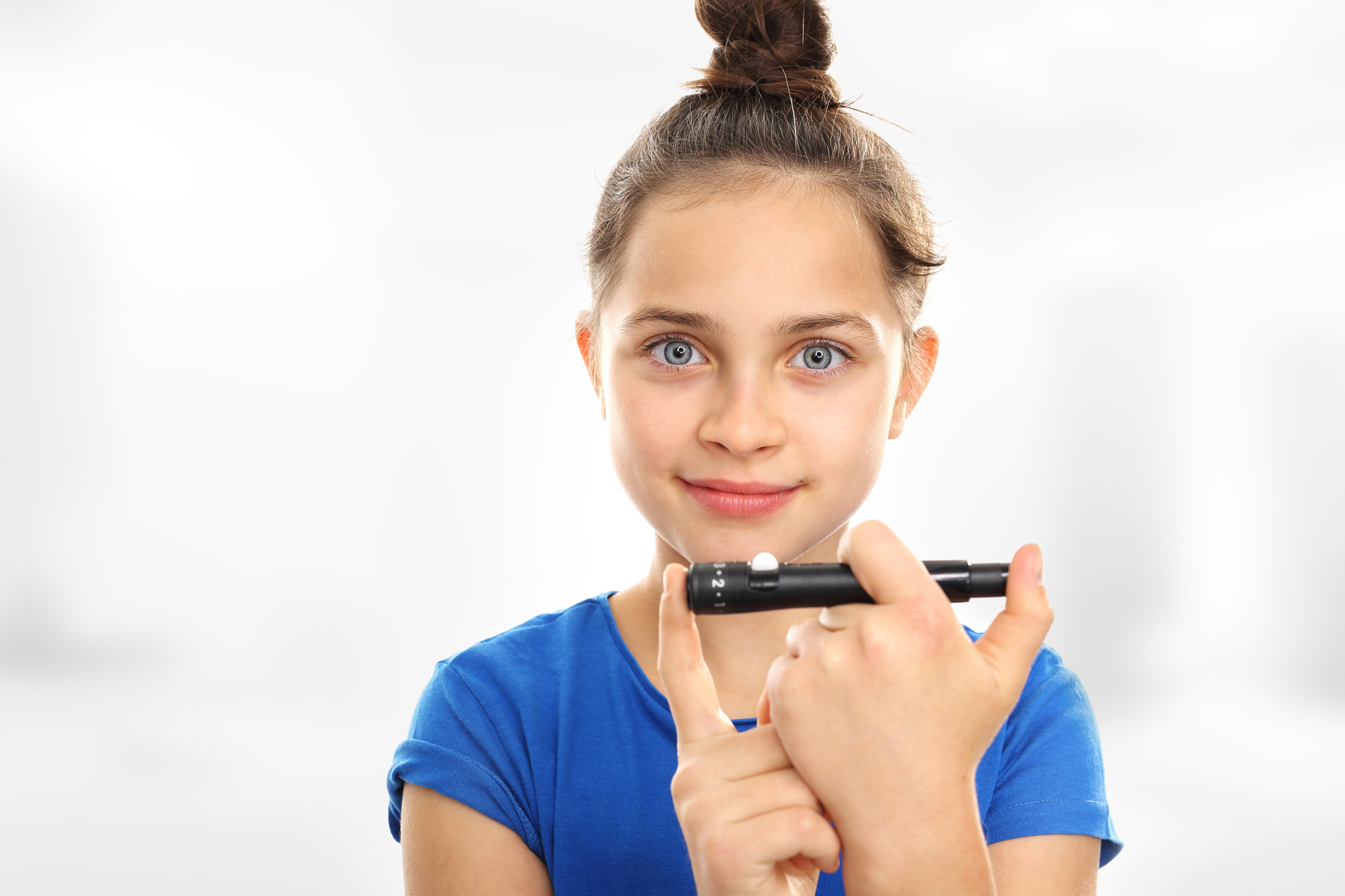 Girl with Diabetes