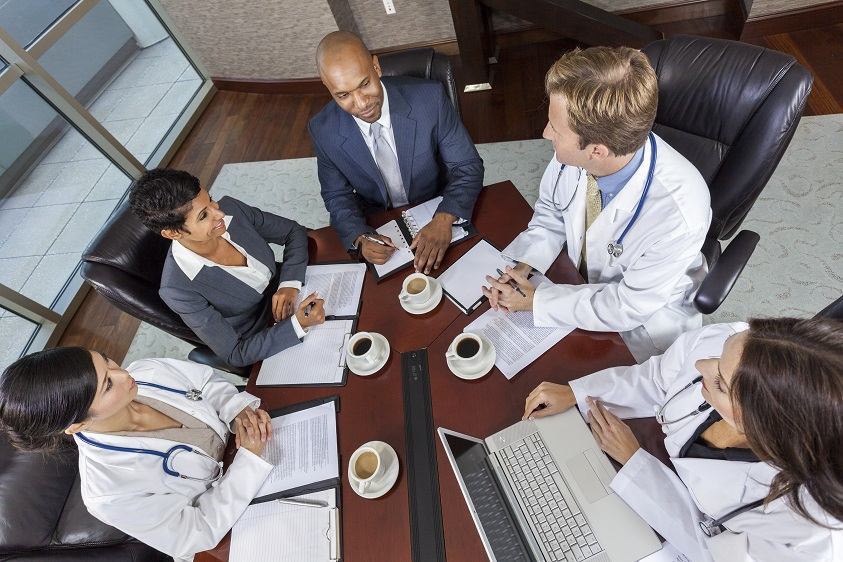 Meeting with doctors