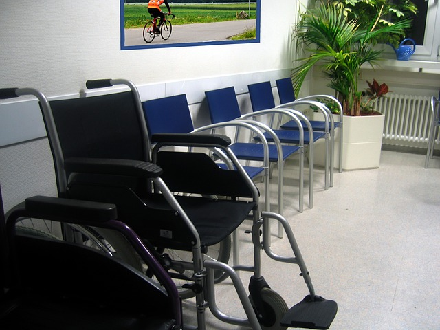 Doctors office waiting room